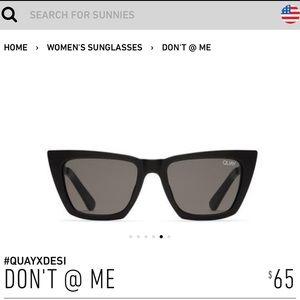 Quay Australia DON'T @ ME Sunglasses